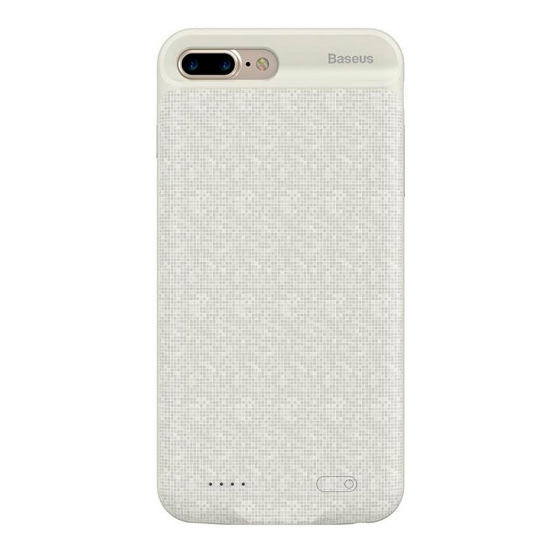 Capa Carregadora Baseus Plaid High Capacity 7300 mAh para iPhone 7 Plus e 8 Plus