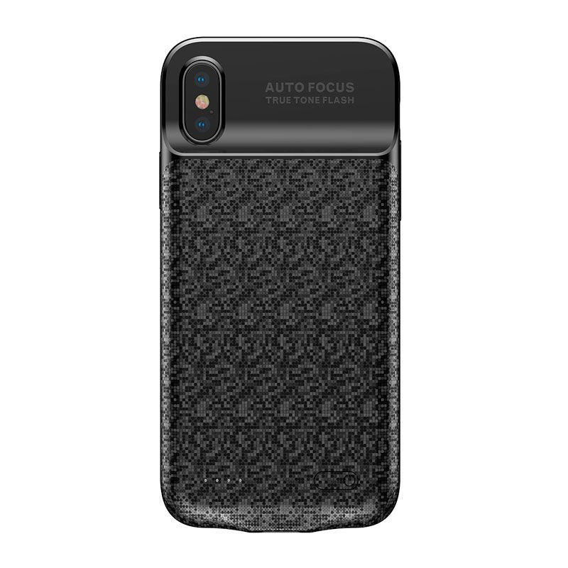 Capa Carregadora Baseus Plaid para iPhone X (3500 mAh)
