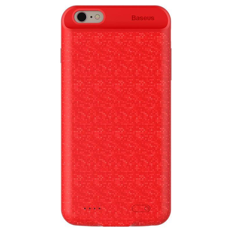 Capa Carregadora Baseus Plaid Slim 3650 mAh para iPhone 7 Plus e 8 Plus