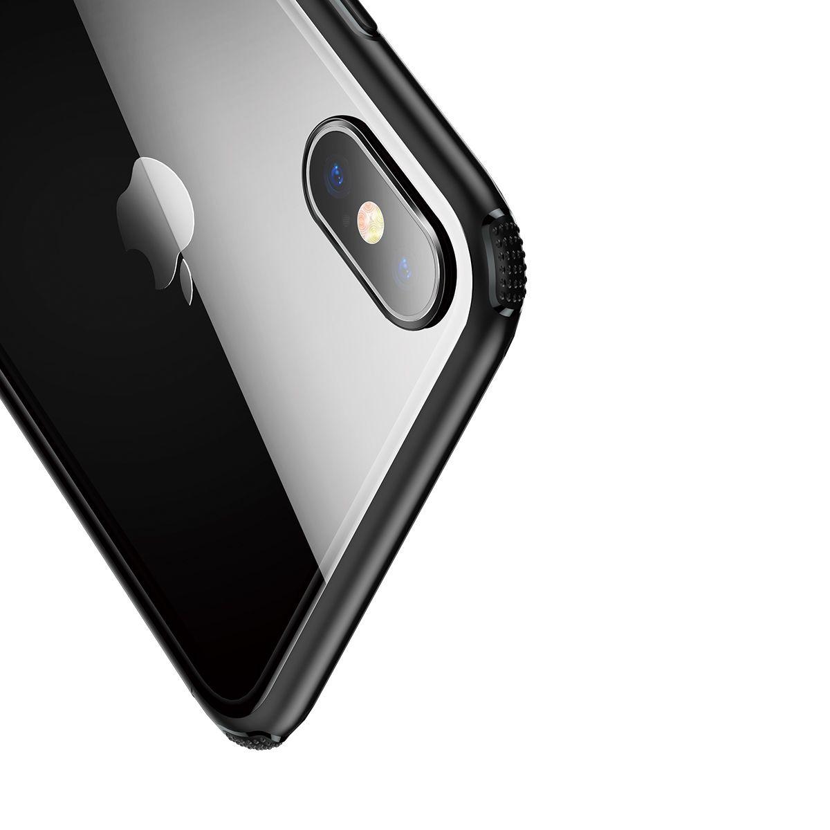 Capa Protetora Transparente para iPhone XS Max Baseus Glass