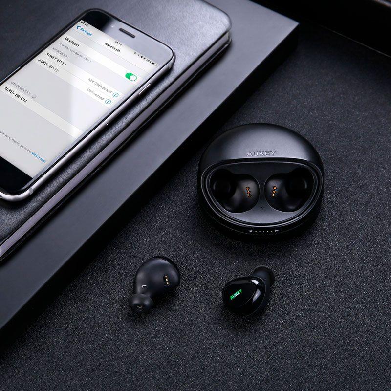 Fone de Ouvido Bluetooth Aukey EP-T1