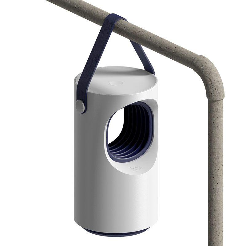 Lâmpada Repelente Anti Mosquitos Portátil Baseus Purple Vortex USB