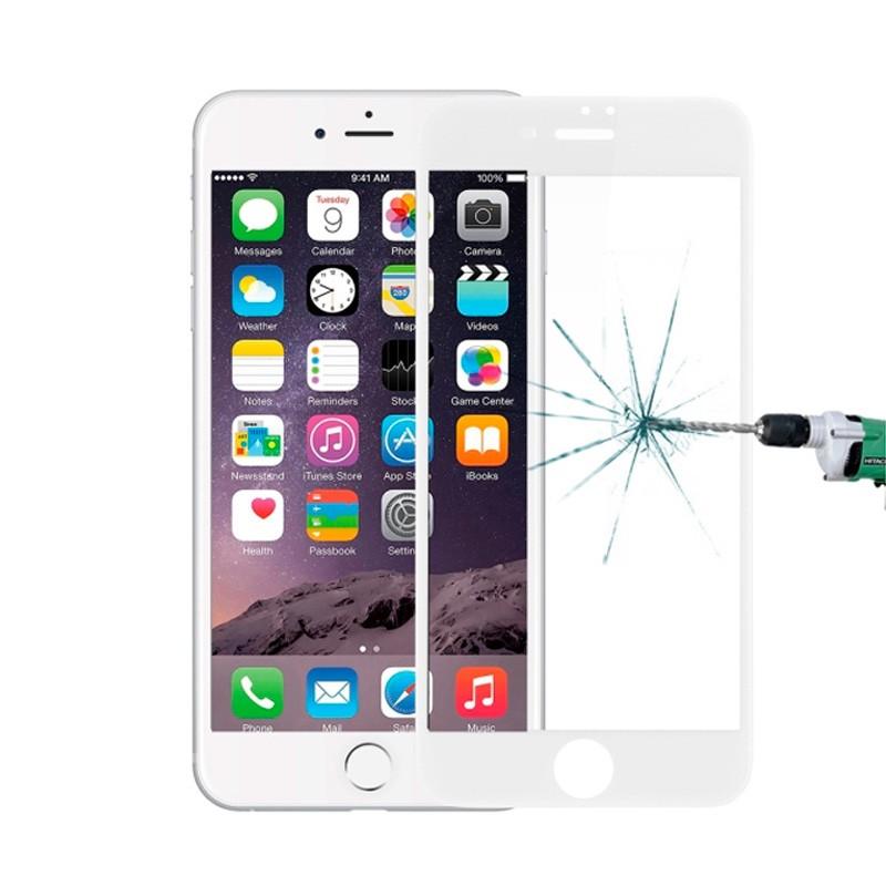 Película Protetora 3D em Vidro Temperado com 0.23mm para iPhone 8 / 8 Plus