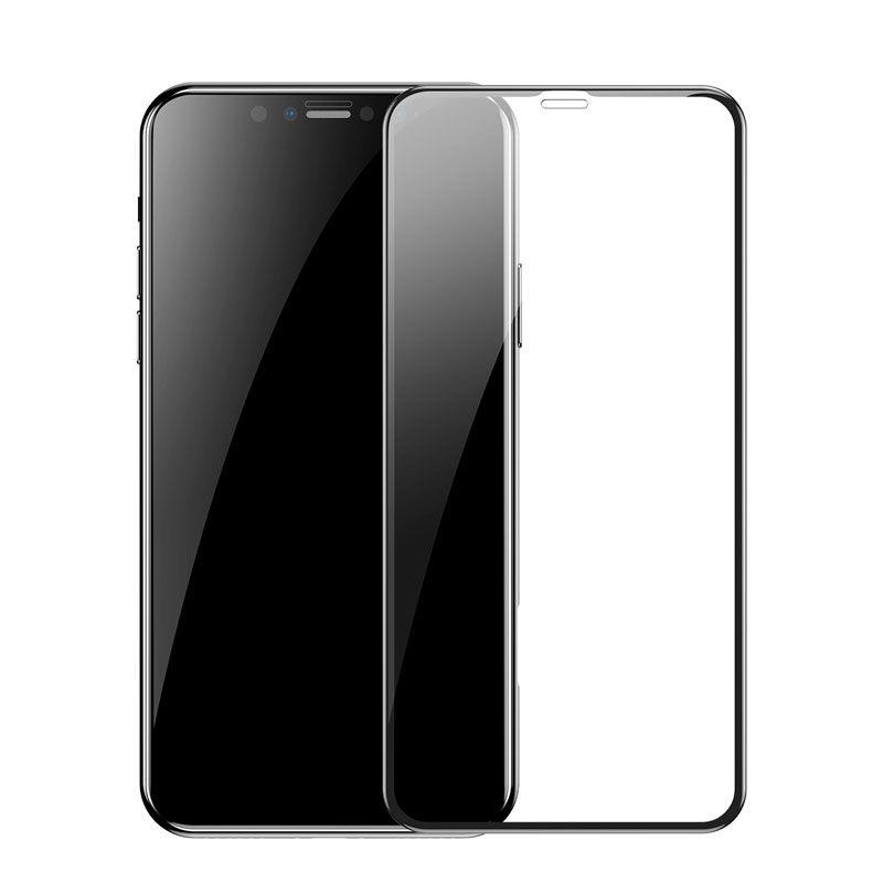 Película Protetora Curva de Vidro Baseus Pet Soft para iPhone XS Max