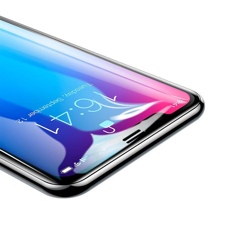 Película Protetora Curva de Vidro Baseus Pet Soft para iPhone XR
