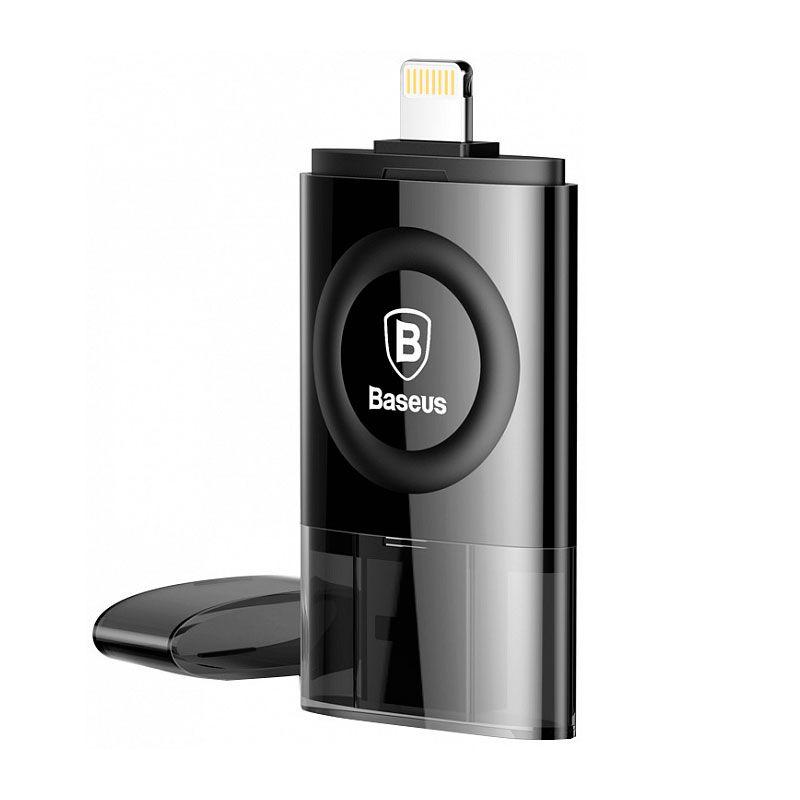 Pen Drive Lightning e USB de 64GB Baseus Obsidian X1 Com MFI
