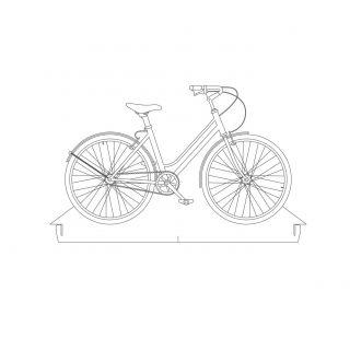 Bicicletas - Acrílico Bicicleta Passeio