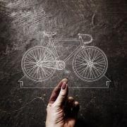 Acrílico Bicicleta Fixa