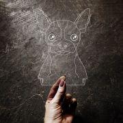 Acrílico Chihuahua