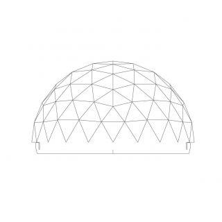 Geométricos - Acrílico Domo