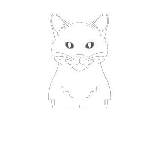 Pet - Acrílico Gato