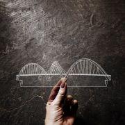 Acrílico Ponte JK - Brasilia