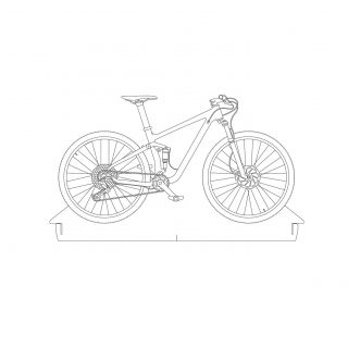Bicicletas - Acrílico Mountain Bike
