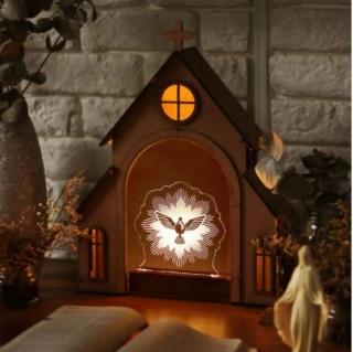 Capelinha + Luminária Espírito Santo
