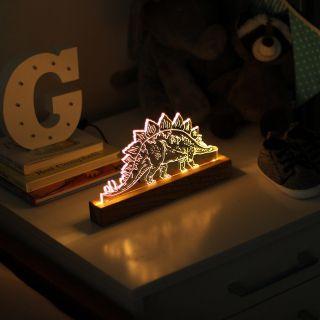 Luminária Stegosaurus