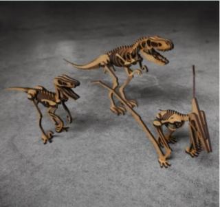 Dinossauros para montar