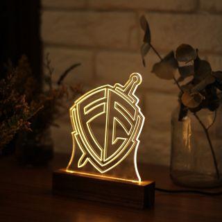 Luminária Escudo Fé