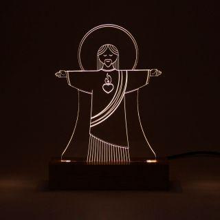 Fé - Luminária Cristo