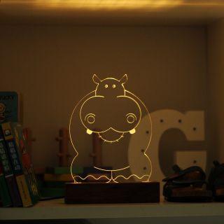 Luminária Hipopótamo