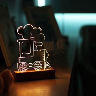 Luminária Trem