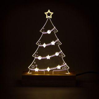 Natal - Luminária Árvore de Natal