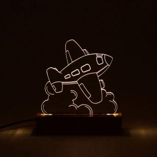 Infantil - Luminária Avião