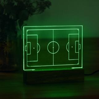 Luminária Campo de Futebol - VERDE