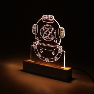 Luminária Escafandro