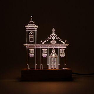Minas Gerais - Luminária Igreja São Francisco de Assis - Diamantina