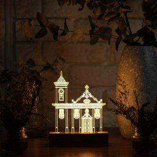Luminária Igreja São Francisco de Assis - Diamantina - MG