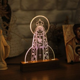 Luminária Imaculado Coração de Maria