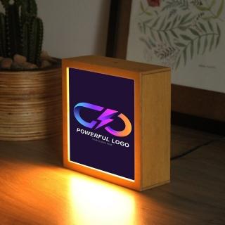Luminária Logo Colorida