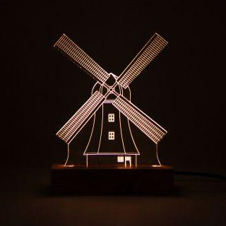 Luminária Moinho Holandês