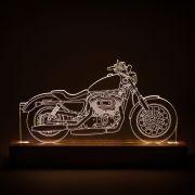 Luminária Motocicleta