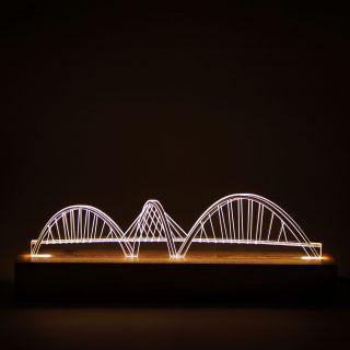 Brasilia - Luminária Ponte JK
