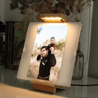 Luminária Porta Retrato - Dia dos Pais