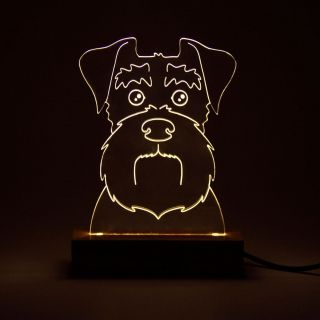 Pet - Luminária Schnauzer