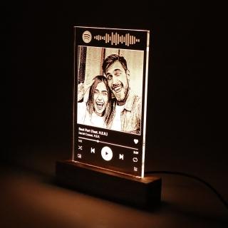 Luminária Tela Spotify - Dia dos Namorados