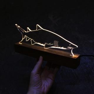 Luminária Tubarão Touro