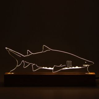 Marinhos - Luminária Tubarão Touro