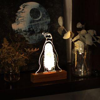 Luminária Pinguim