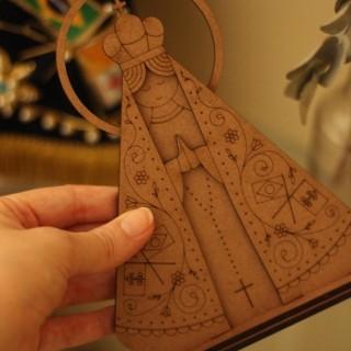 Miniatura Nossa Senhora Aparecida