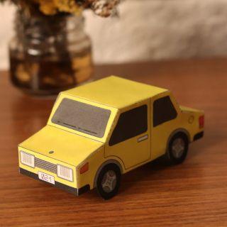 Papercraft Sedan