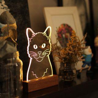 Luminária Gato