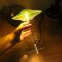 Luminária UFO - Verde - Gato