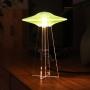 Luminária UFO - Verde - Humano