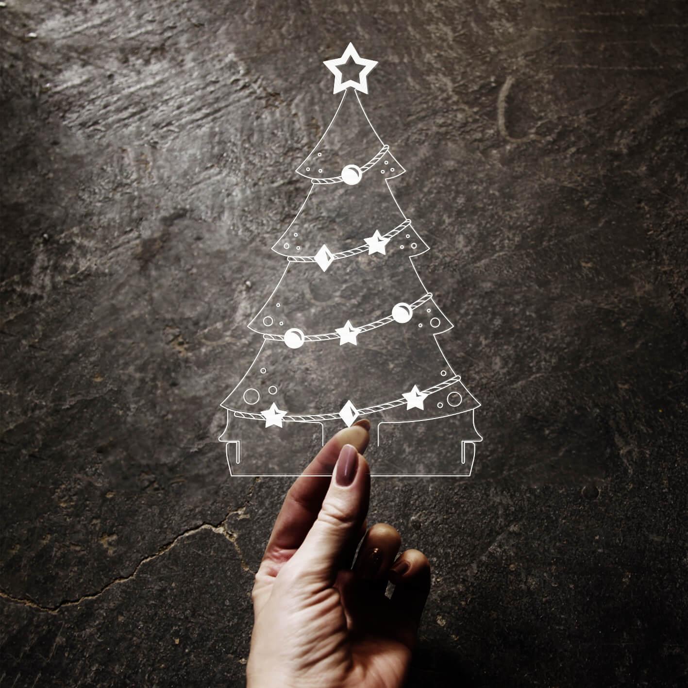 Natal - Acrílico Árvore de Natal