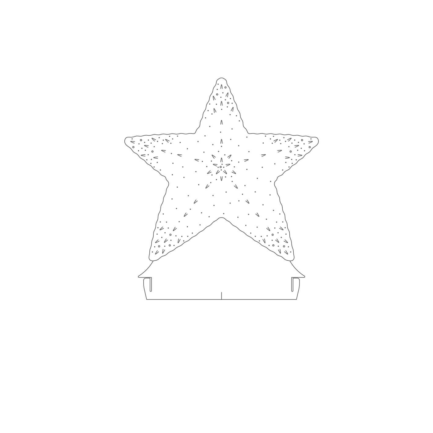 Marinhos - Acrílico Estrela