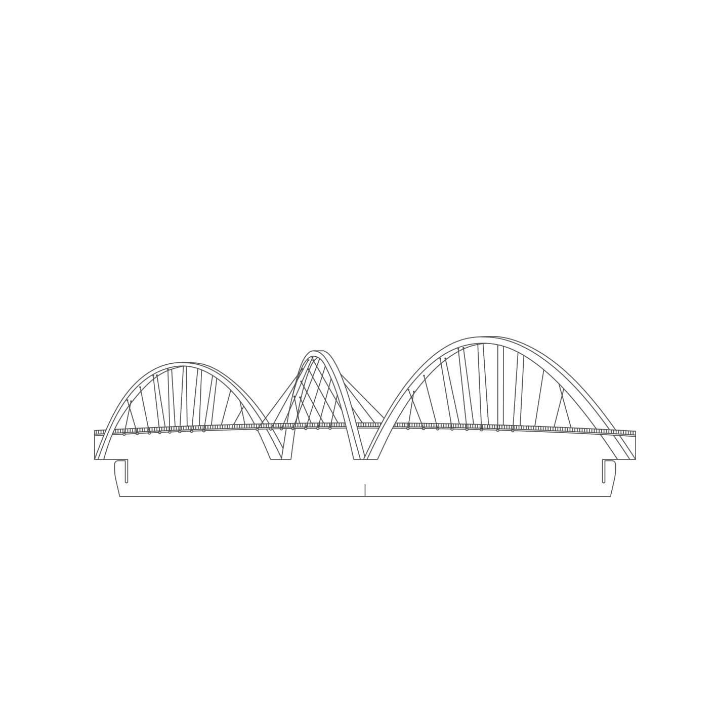 Brasilia - Acrílico Ponte JK