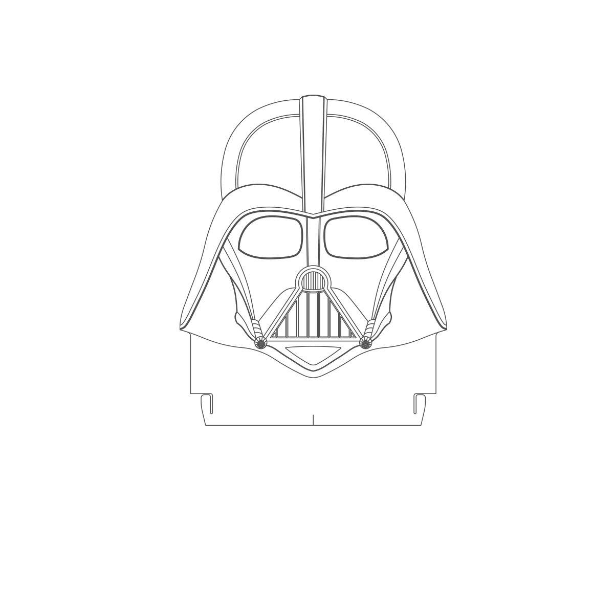 Acrílico Vader